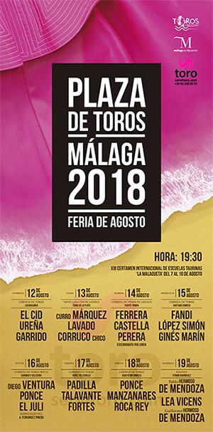 Temporada taurina malaga 2018
